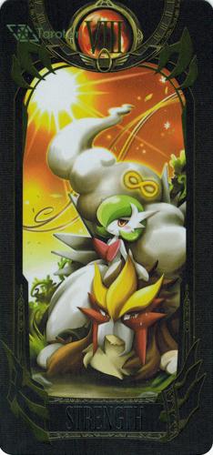 strength - pokemon tarot
