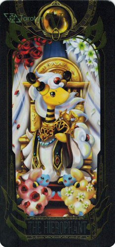 the hierophant - pokemon tarot