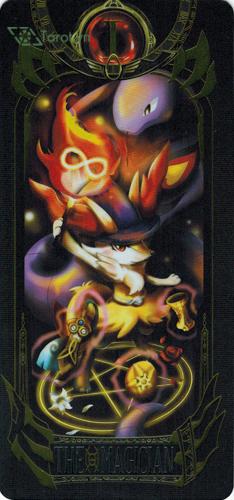 the magician - pokemon tarot
