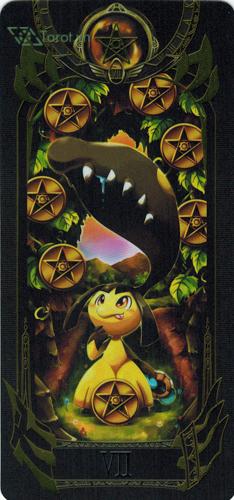 7 of pentacles - pokemon tarot