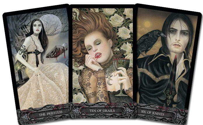 Tarot of Vampyres – Sách Hướng Dẫn