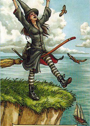 Lá 0. The Fool – Everyday Witch Tarot