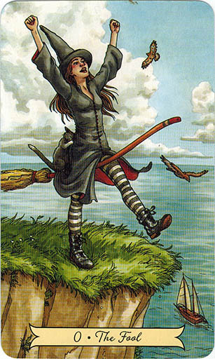 Ý nghĩa lá 0. The Fool trong bộ bài Everyday Witch Tarot
