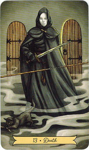 Ý nghĩa lá 13. Death trong bộ bài Everyday Witch Tarot