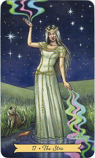 Ý nghĩa lá 17. The Star trong bộ bài Everyday Witch Tarot