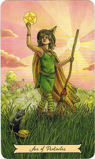 Ý nghĩa lá Two of Pentacles trong bộ bài Everyday Witch Tarot
