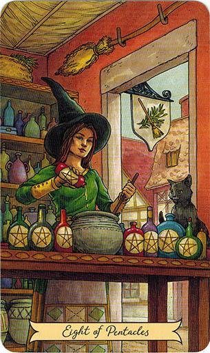 Everyday Witch Tarot - Sách Hướng Dẫn 72