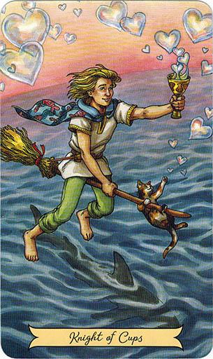 Ý nghĩa lá Knight of Cups trong bộ bài Everyday Witch Tarot