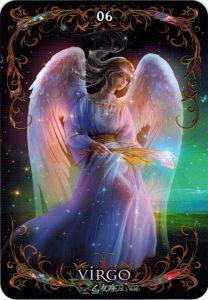 Lá 06. Virgo – Astrology Oracle Cards 1