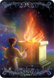 Lá 15. Ara – Astrology Oracle Cards 1