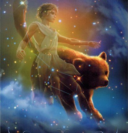 Lá 48. Ursa Minor – Astrology Oracle Cards