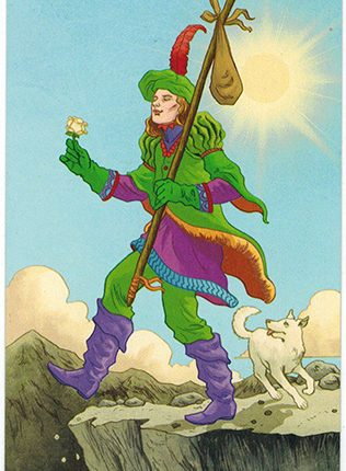 Lá The Fool – Llewellyn's Classic Tarot