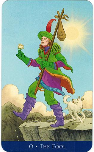 Ý nghĩa lá The Fool trong bộ bài Llewellyn's Classic Tarot