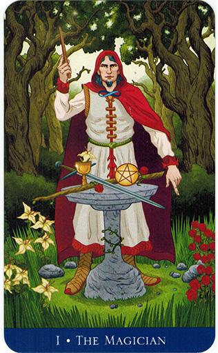 Ý nghĩa lá The Magician trong bộ bài Llewellyn's Classic Tarot