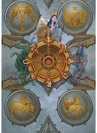 Lá Wheel of Fortune – Llewellyn's Classic Tarot
