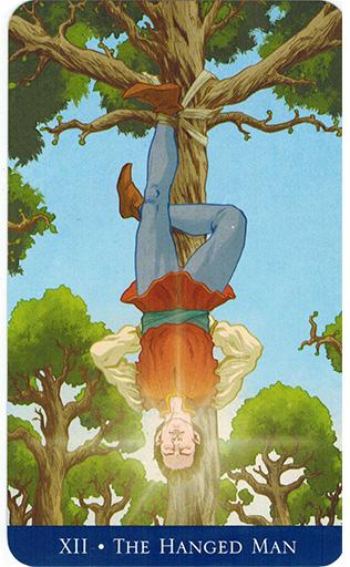 Ý nghĩa lá The Hanged Man trong bộ bài Llewellyn's Classic Tarot