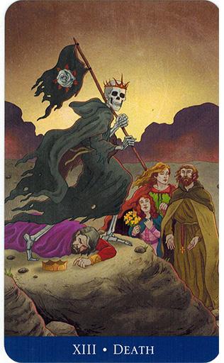 Ý nghĩa lá Death trong bộ bài Llewellyn's Classic Tarot