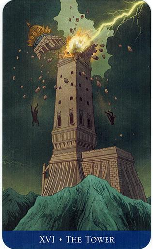 Ý nghĩa lá The Tower trong bộ bài Llewellyn's Classic Tarot
