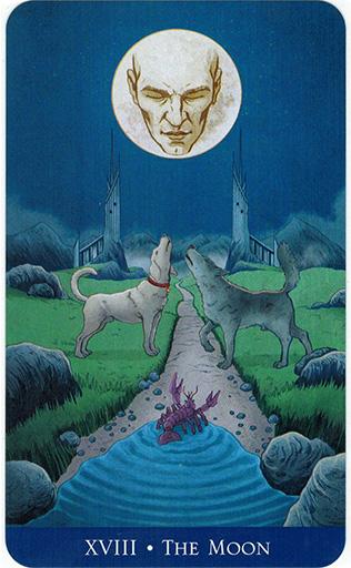 Ý nghĩa lá The Moon trong bộ bài Llewellyn's Classic Tarot