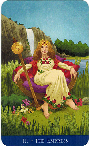 Ý nghĩa lá The Empress trong bộ bài Llewellyn's Classic Tarot