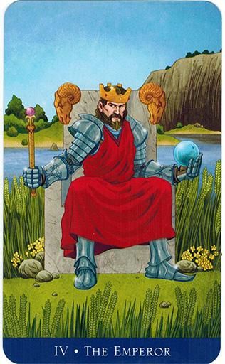 Ý nghĩa lá The Emperor trong bộ bài Llewellyn's Classic Tarot