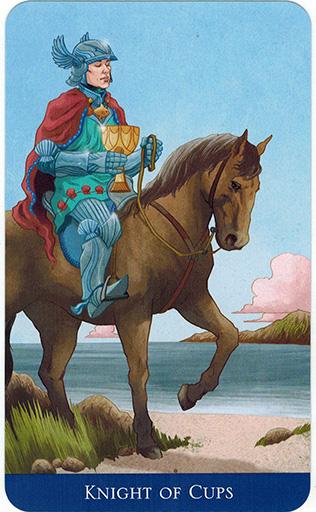 Ý nghĩa lá Knight of Cups trong bộ bài Llewellyn's Classic Tarot