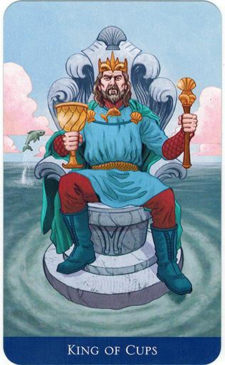 Ý nghĩa lá King of Cups trong bộ bài Llewellyn's Classic Tarot