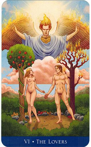 Ý nghĩa lá The Lovers trong bộ bài Llewellyn's Classic Tarot