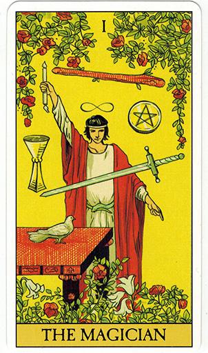 Ý nghĩa lá The Magician trong bộ bài After Tarot