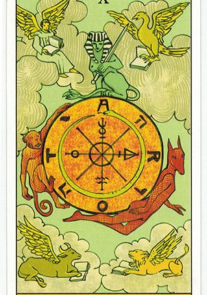Lá The Wheel of Fortune – After Tarot
