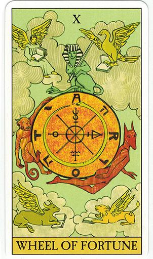 Ý nghĩa lá The Wheel of Fortune trong bộ bài After Tarot
