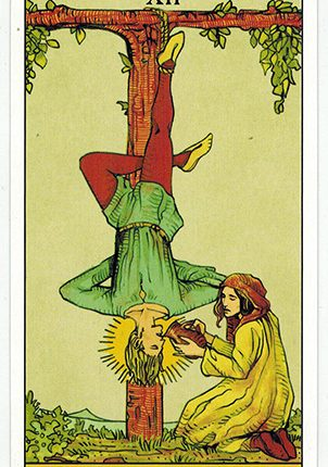 Lá The Hanged Man – After Tarot