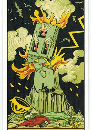 Lá The Tower – After Tarot