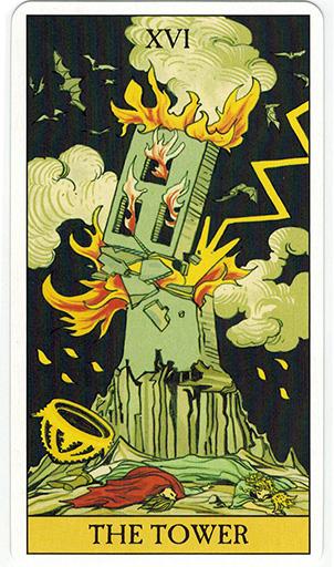 Ý nghĩa lá The Tower trong bộ bài After Tarot
