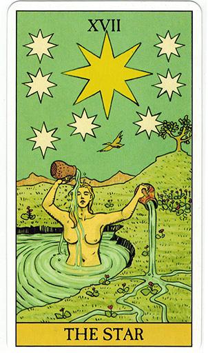 Ý nghĩa lá The Star trong bộ bài After Tarot