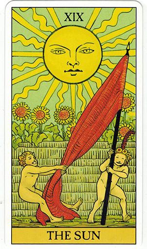 Ý nghĩa lá The Sun trong bộ bài After Tarot