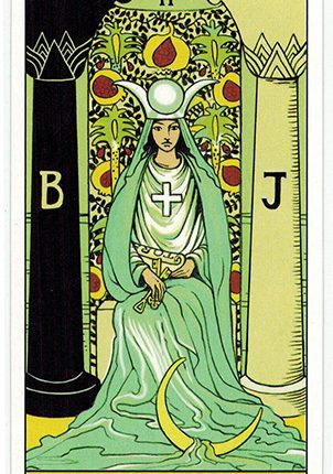 Lá The High Priestess – After Tarot