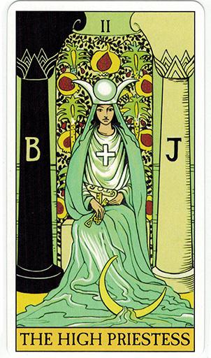 Ý nghĩa lá The High Priestess trong bộ bài After Tarot