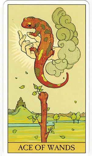 Ý nghĩa lá Ace of Wands trong bộ bài After Tarot