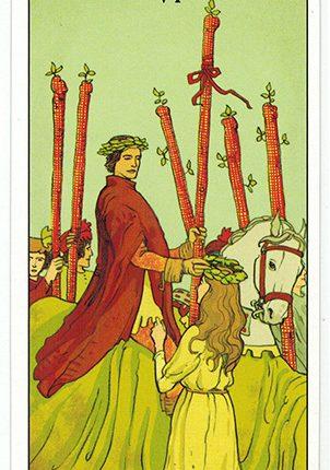 Lá Six of Wands – After Tarot