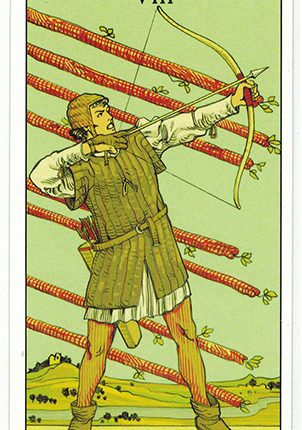 Lá Eight of Wands – After Tarot