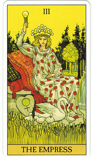 Ý nghĩa lá The Empress trong bộ bài After Tarot