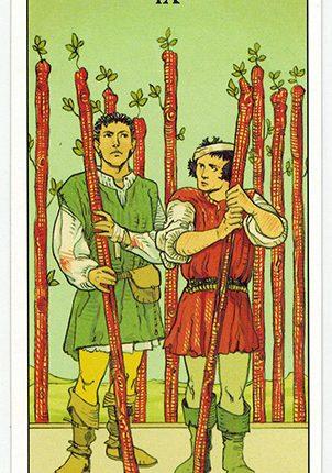 Lá Nine of Wands – After Tarot