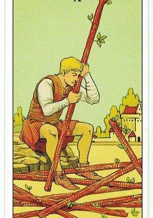 Lá Ten of Wands – After Tarot