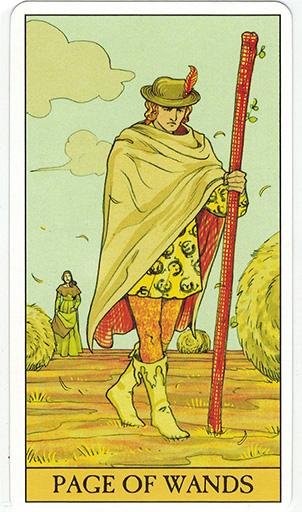 Ý nghĩa lá Page of Wands trong bộ bài After Tarot