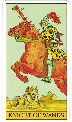 Ý nghĩa lá Knight of Wands trong bộ bài After Tarot