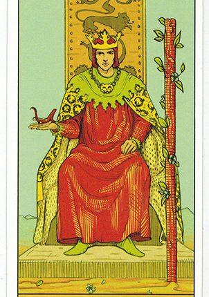 Lá King of Wands – After Tarot