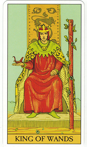 Ý nghĩa lá King of Wands trong bộ bài After Tarot