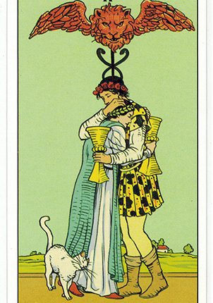 Lá Two of Cups – After Tarot