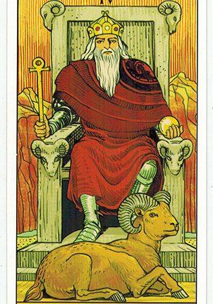 Lá The Emperor – After Tarot